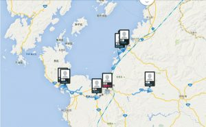 スクールバス現在位置確認システム