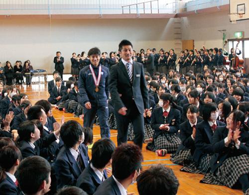 普通課程卒業生 谷永 雄一の活躍
